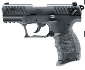 Walther P22Q 9MM PAK Gas- Signalwaffe